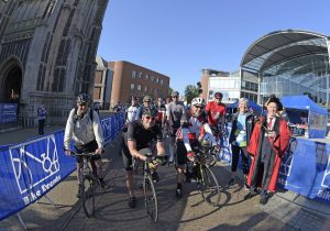 The start of the Norwich 100 2021