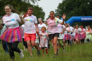 Norwich Colour 5k 2021 runners