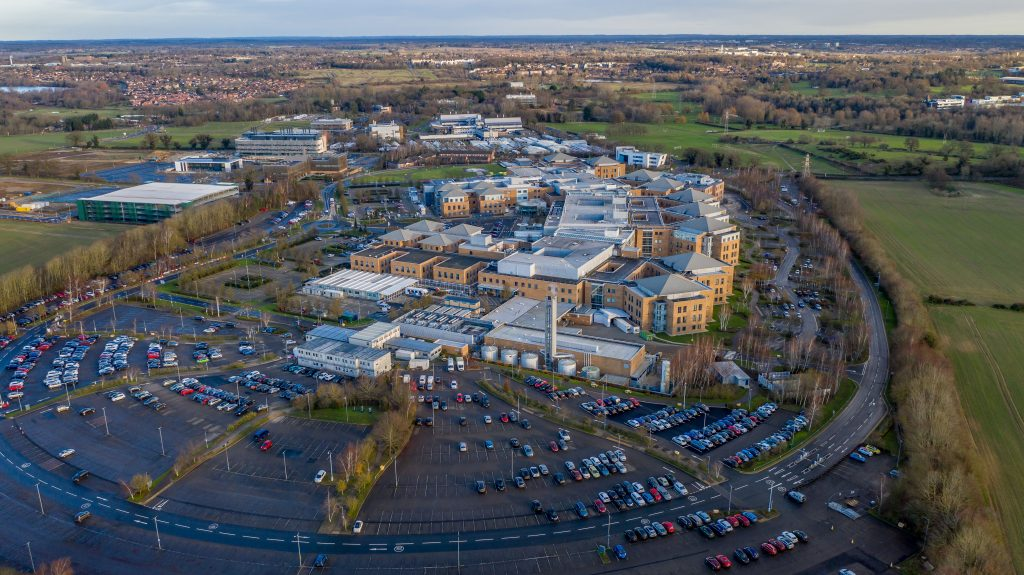 Aerial-view-of-NNUH-and-Norwich-Research-Park
